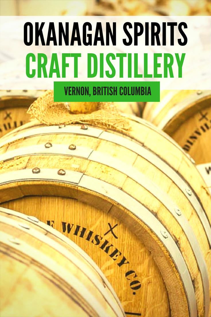 Okanagan Spirits Craft Distillery in Vernon BC