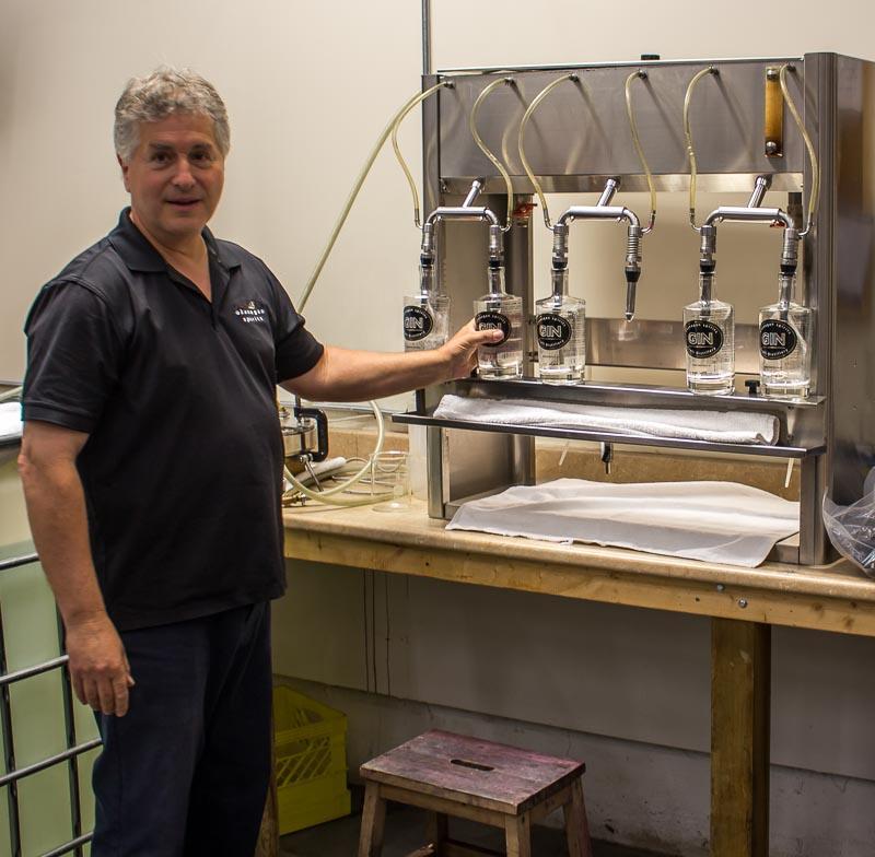 Okanagan Spirits Vernon Master distiller Peter von Hahn