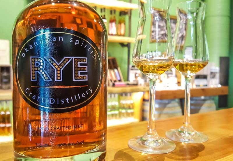 Okanagan Spirits Vernon Rye Whisky
