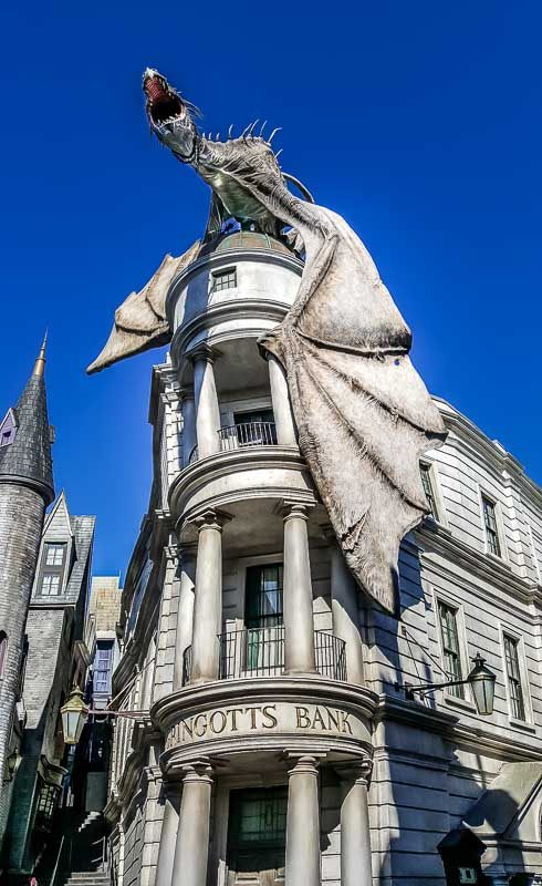The Wizarding World of Harry Potter Gringotts Bank