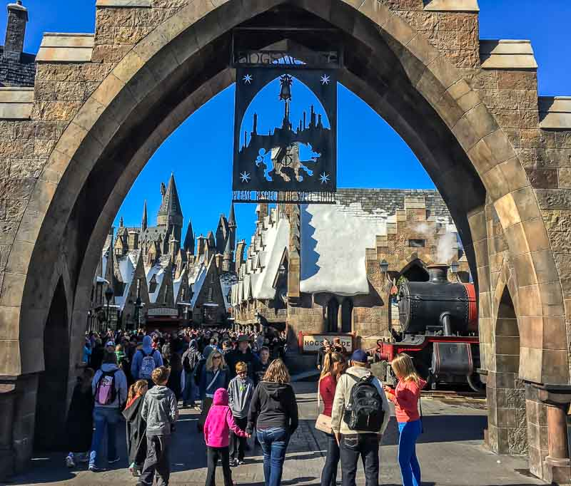 The Wizarding World of Harry Potter entrance