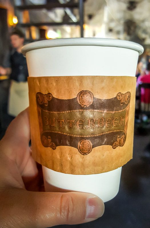 The Wizarding World of Harry Potter hot butter beer