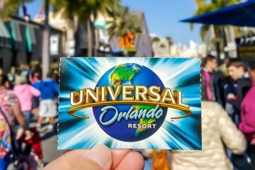 Universal Orlando ticket
