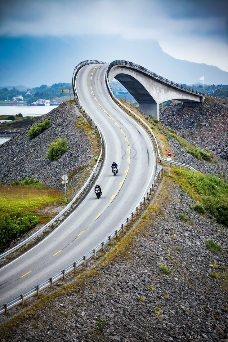 Atlantic Ocean Road Norway DP