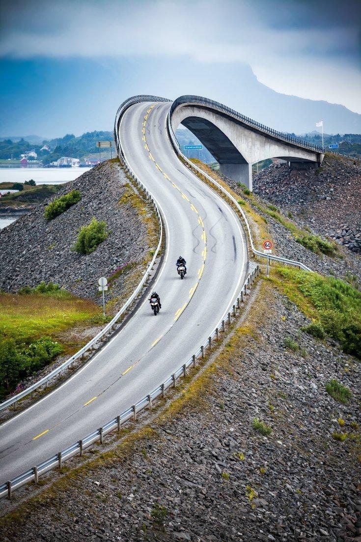 Atlantic Ocean Road Norway DP