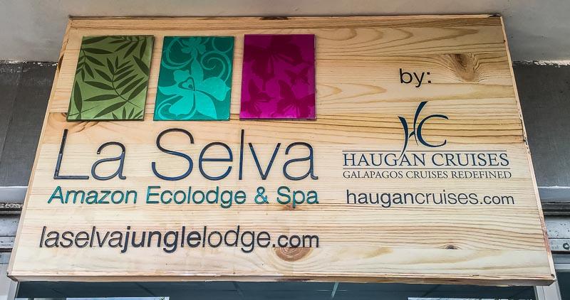 La Selva Lodge sign