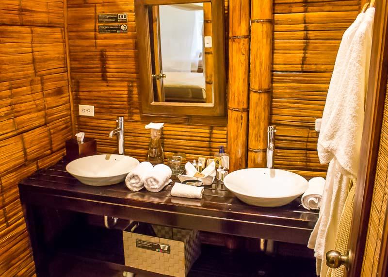 La Selva ecuador bathroom