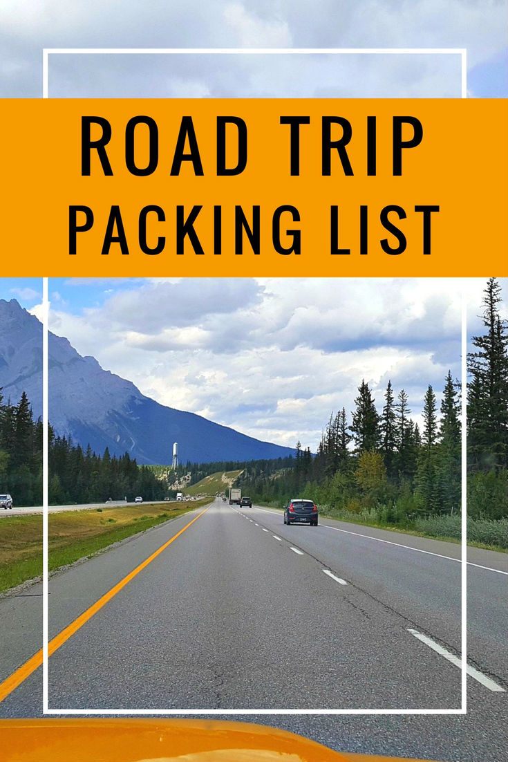 Road trip packing list | road trip essentials checklist | Road Trip essentials | Printables | Packing List | Checklist