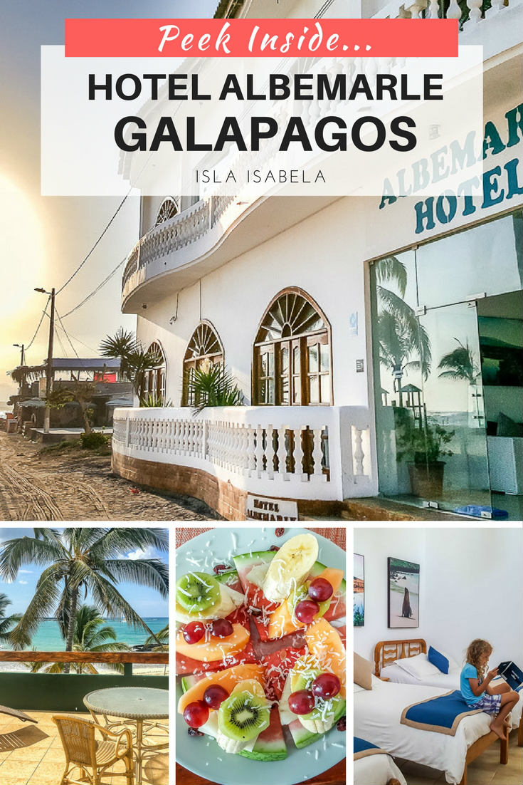 Where to stay in the Galapagos Isla Isabela Our review of Hotel Albemarle Galapagos