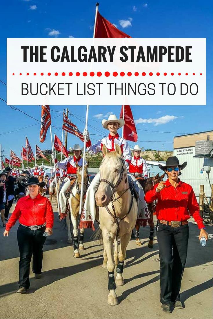 Calgary Stampede Tips | Calgary Stampede things to do | Calgary Stampede Bucket List