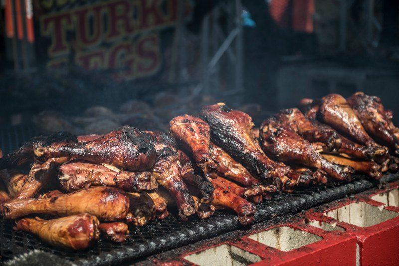 Calgary Stampede midway BBQ
