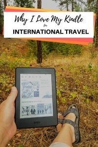 Kindle for International Travel