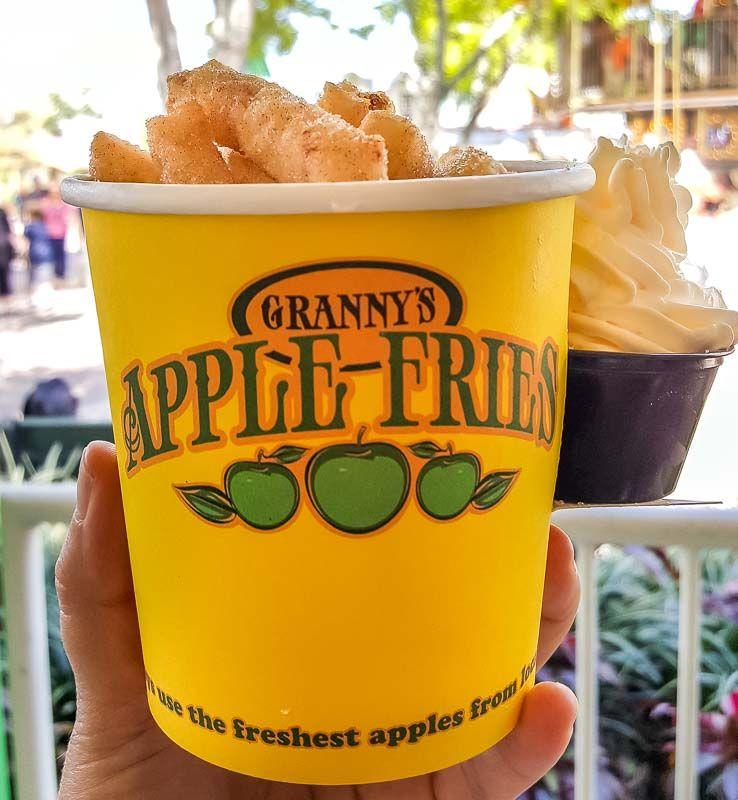 Granny's apple fries