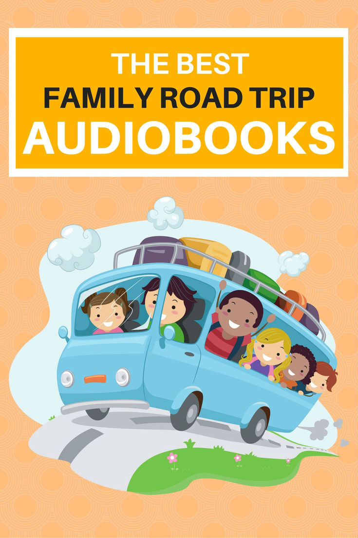 The best audiobooks for family road trips with kids