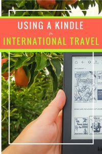 Using a Kindle for International Travel