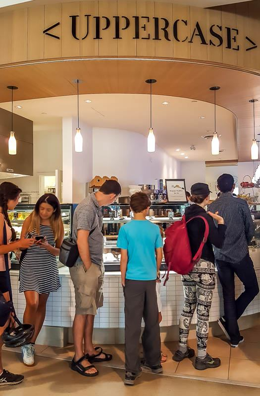 Uppercase coffee and pastries at the UBC Nest