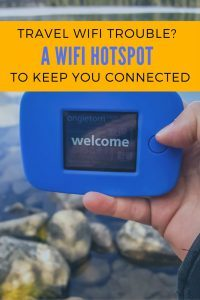 A WiFi Hotspot to keep you connected