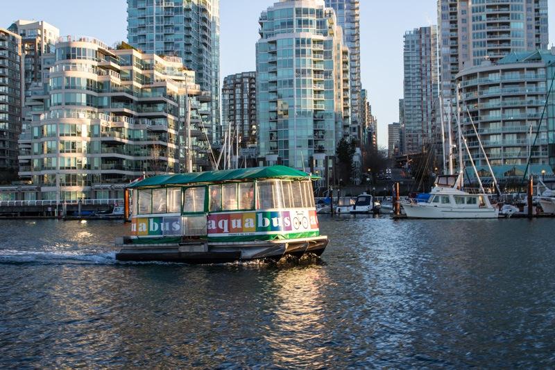 Aquabus at Granville Island Vancouver