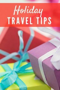 Holiday travel tips and hacks for Christmas