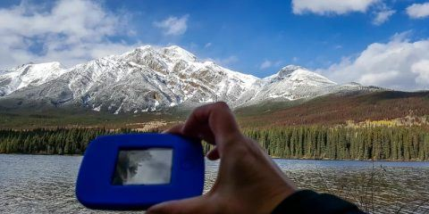 Using our Tep 4G in Jasper, Canada