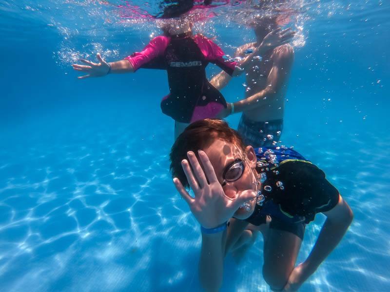 underwater with the GoPro HERO 6