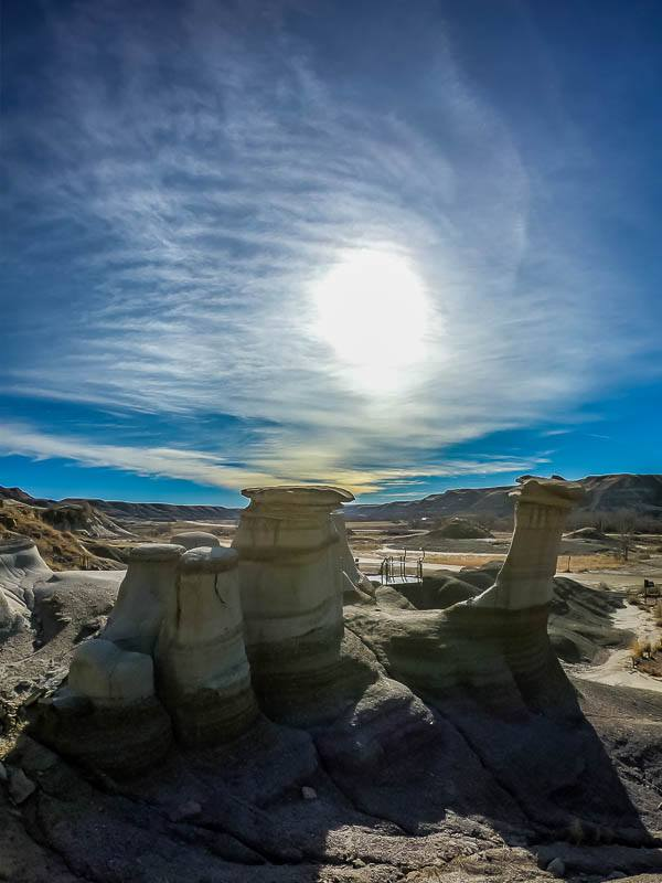 Drumheller, Alberta hoodoos taken with the GoPro HERO 6 Black Action cam