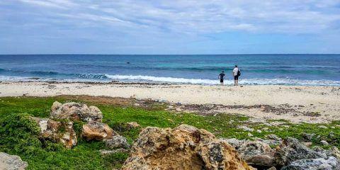 Beach in Isla Mujeres, Mexico
