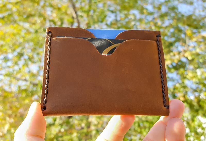 JooJoobs minimalist slim wallet front