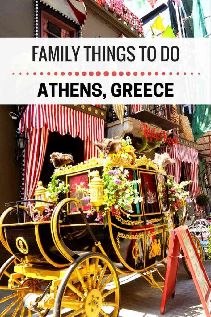 Things to do in Athens Greece with kids as a family
