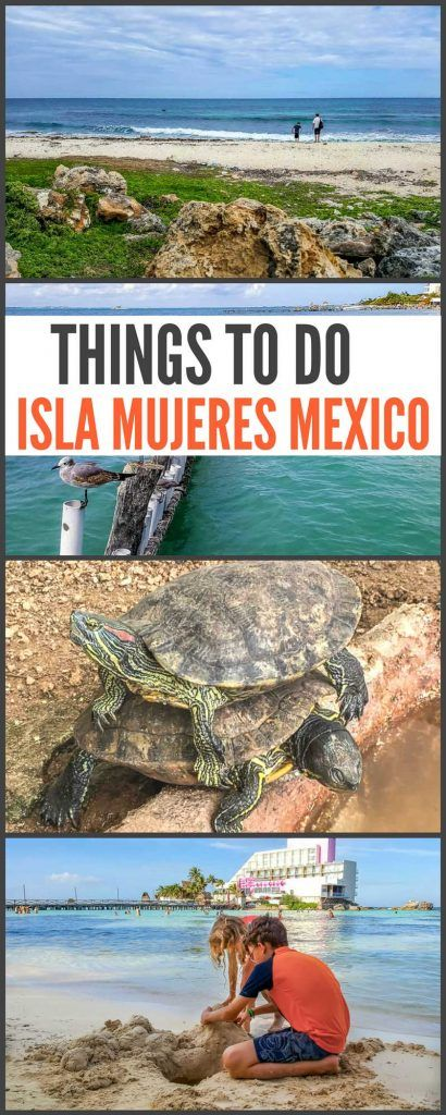 Things to do in Isla Mujeres Mexico. We've written about Mexico's Isla Mujeres a few times over the years and, to be honest, not much has changed. Of course it's grown, but that only means more golf cart rentals and more options. We don't find that it's gotten any busier and it seems there's just more to do there these days with a lot more things to do and see.