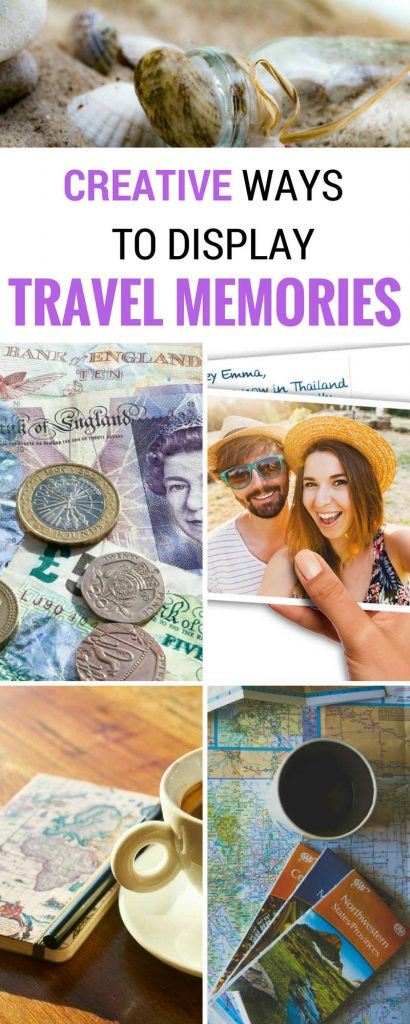 DIY ideas for how to preserve and display your travel memories and souvenirs. While it's easy to pick up a T-shirt at any souvenir shop (and we still do sometimes!), we've aimed for some unique, interesting ways to preserve your trip memories. After a lot of though (and a lot of pruning of the list, these are the travel memories ideas that we love the best.