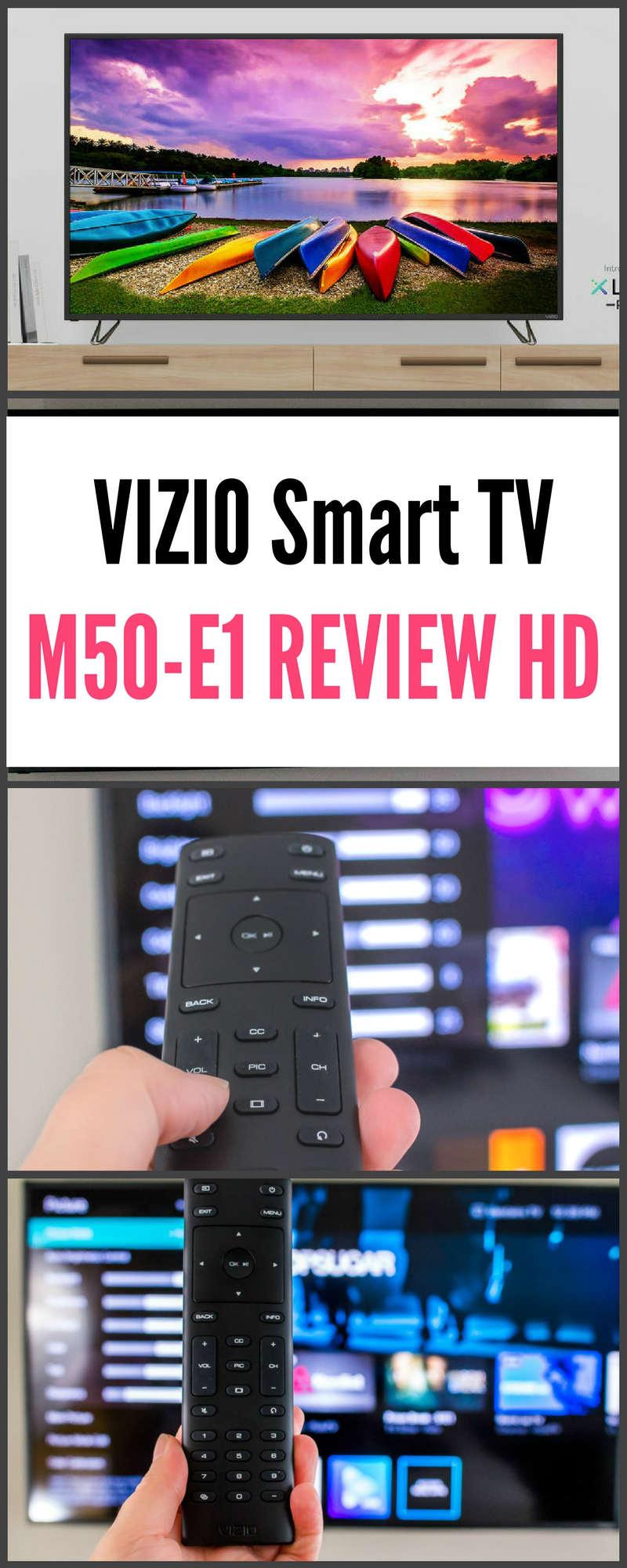 VIZIO Smart TV VIZIO M50-E1 Review 4K HD