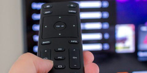 VIZIO TV and remote
