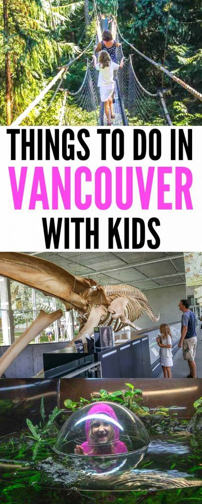 Things to do in Vancouver with Kids We travel to Vancouver several times a year with the family. There's always so much to do, including walking or biking the seawall, having fun at the aquarium or hiking through Stanley Park | Vancouver Travel | Vancouver BC Canada | Vancouver with kids | Vancouver with Family #Vancouver #BC #travel