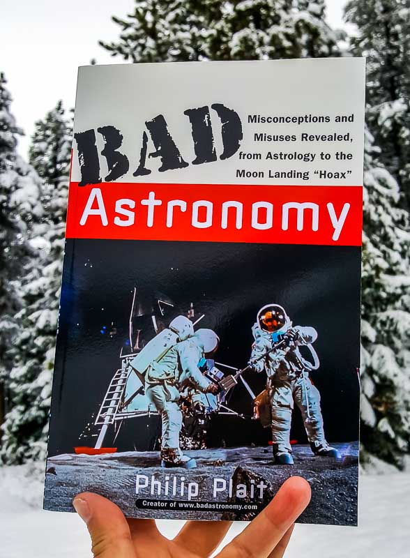 Bad Astronomy book by Phil Plait