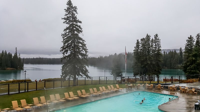 Fairmont Jasper Park Lodge outdoor pool