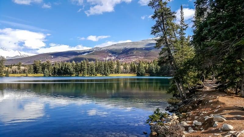 Jasper Alberta Canada lake