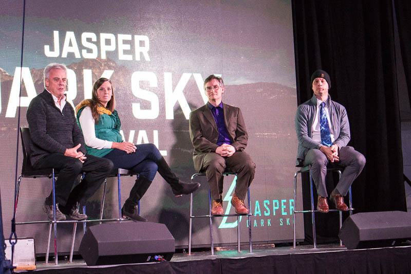SPACEtalks panel Jasper Alberta Canada Dark Sky Festival