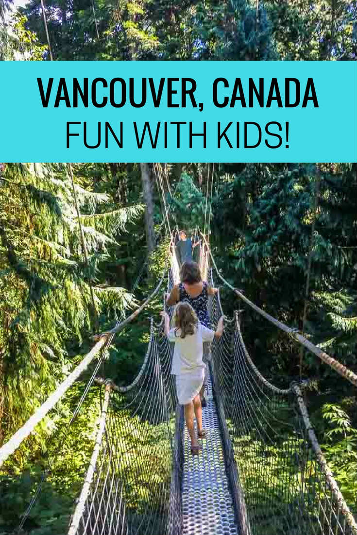 Vancouver fun with kids