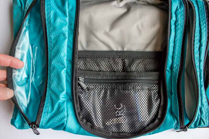 eBagsPack-it-flat Toiletry kit bottom part