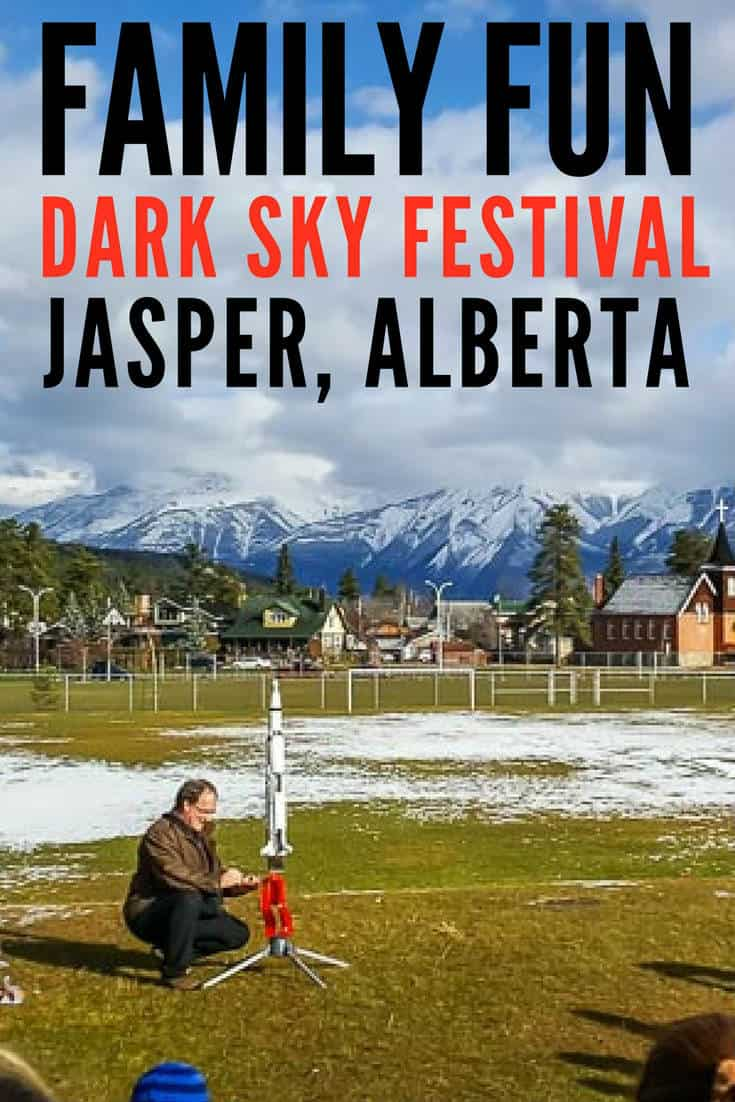 family fun at the Jasper Dark Sky Festival The Dark Sky Festival takes place over two weekends in October that are packed with events, speakers and activities that feature science, space and conservation. Jasper Dark Sky Preserve | Things to do in Jasper Alberta | Jasper Alberta | Jasper National Park | Northern Lights | Canada | Alberta | Canadian Rockies | Scenery |Where to Stay in Jasper National Park | Dark Skies | Jasper National Park Things To Do | Jasper National Park Winter | #travel #traveltips