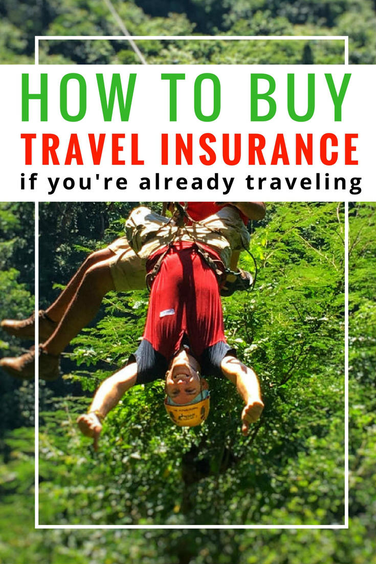 how to buy travel insurance after departure