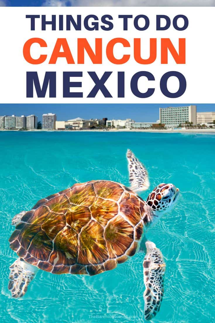 Things to do in cancun mexico spring break