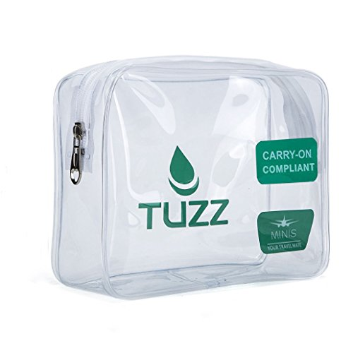 TUZZ TSA Approved Clear Travel Toiletry Bag Review