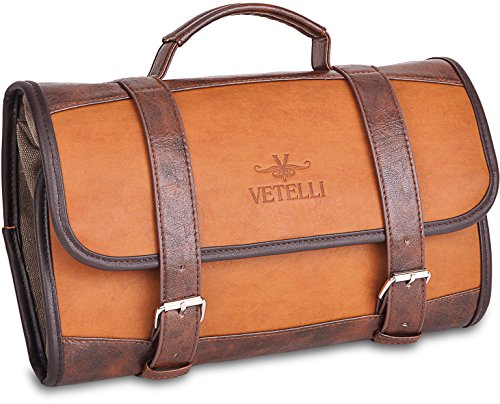 Vetelli Hanging Toiletry Bag for Men - Dopp Kit Review