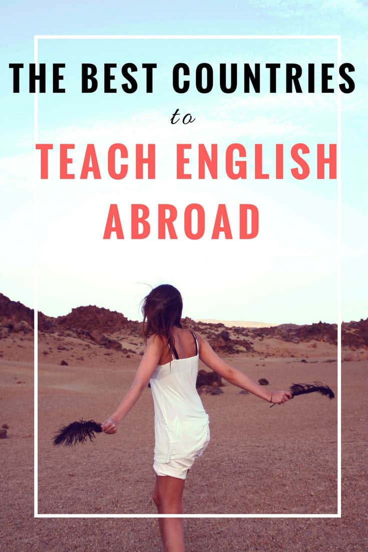 Best countries to teach English. Want to teach English abroad? With six years of experience teaching abroad, travel expert Jessica shares her experiences teaching English in China and Thailand, and gives some great tips! | best countries to teach abroad | Where to teach abroad | Best countries to teach English | How to teach English abroad | Teach English abroad | Teach English as a second language | teach English abroad tips | Teach English in Japan | Teach English in China | Teach English in Thailand | Teach English in Europe | TEFL | ESL | ESL teaching #esl #travel #traveltips