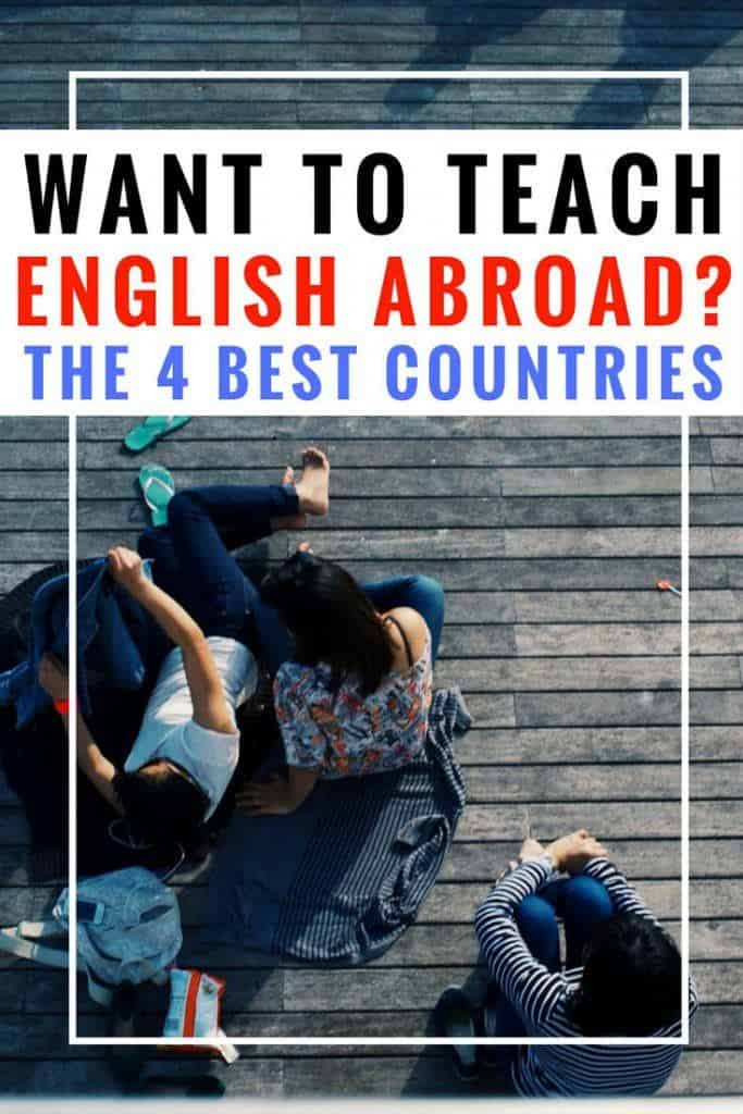 How to teach English abroad. Teaching abroad expert Jessica shares her best tips for how to teach English abroad, the best countries for teaching English overseas, and shares if she thinks you'll need to get a TEFL certification (and if you can get a TEFL certificate overseas!). Where to teach English abroad | Where to teach abroad | How to teach English abroad | Teach English abroad | Teach English as a second language | teach English abroad tips | Teach English in Japan | Teach English in China | Teach English in Thailand | Teach English in Europe | TEFL | ESL | ESL teaching #esl #travel #traveltips