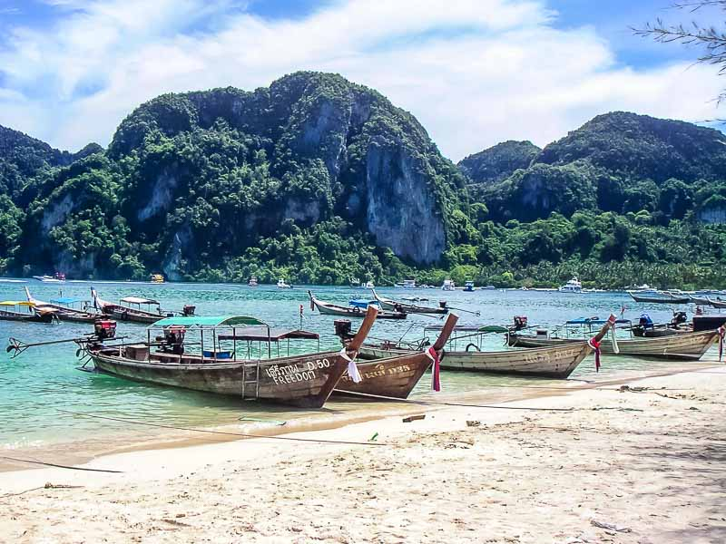 Thailand beach on Ko Phi Phi island