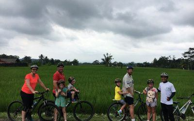 bike riding in Bali