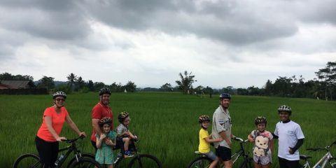 bike riding in Bali